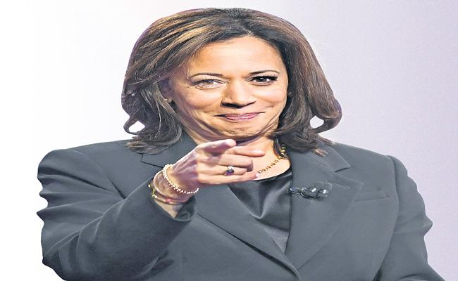 Kamala Harris Democrats is a US Vice-Presidential Candidate - Sakshi