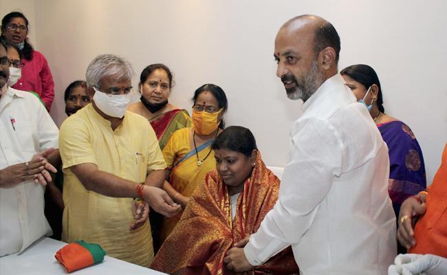 BJP Appointed New General Secretary For Telangana - Sakshi