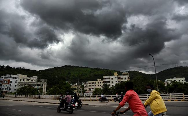 Heavy to very heavy rainfall in next 24 hours, says Krishna District collector - Sakshi