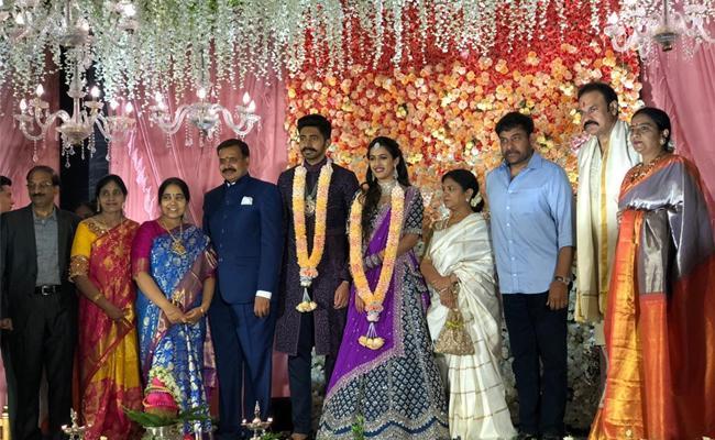 Niharika Konidela Engaged With Chaitanya - Sakshi