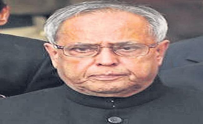 former president Pranab mukherjee health condition series - Sakshi