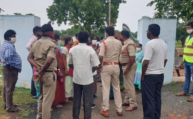 Cheating Case Filing on Army Clerk Prakasam - Sakshi