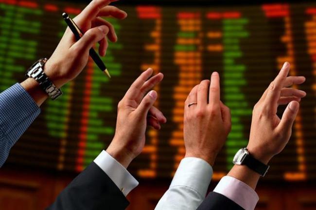 Sensex rises over 100 points  - Sakshi