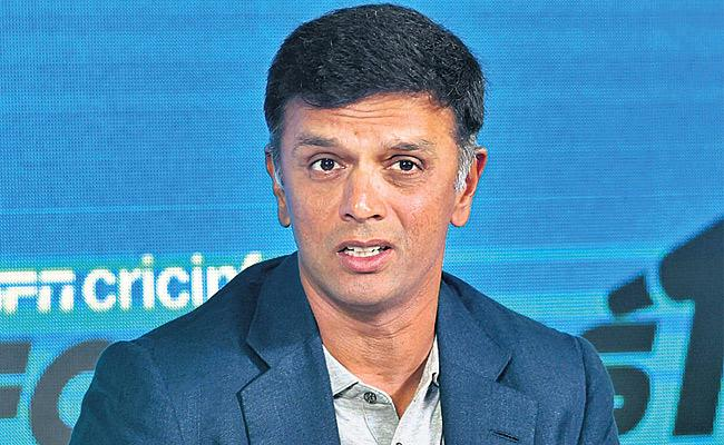 Dont Let Former Players Experience Go To Waste, Dravid - Sakshi