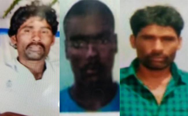 Four Fishermen Missing In Sea At East Godavari - Sakshi