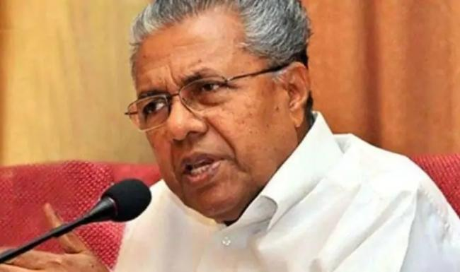 Kerala CM VIjayan Goes Into Self Quarantine - Sakshi