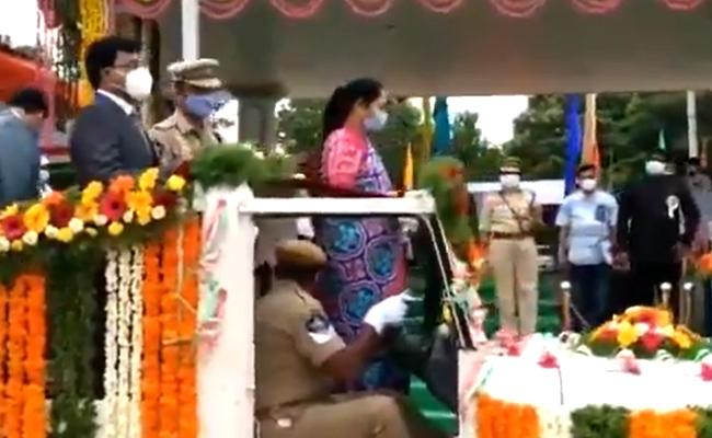 74th Independence Day Celebrations At Nellore District - Sakshi