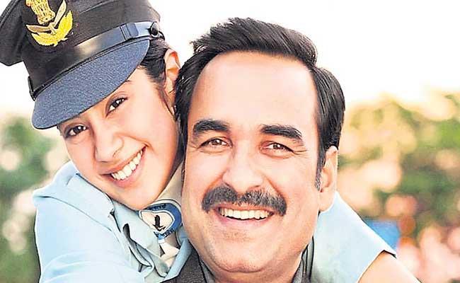 Special Story About Gunjan Saxena Movie In Family - Sakshi