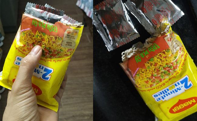 Man Got Two Masala Packets In A Single Pack Of Maggi Noodles - Sakshi
