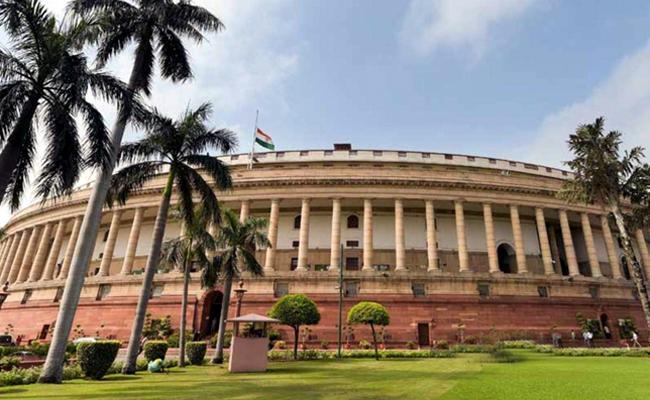 CoronaVirus: Parliament preparations For Monsoon Session - Sakshi