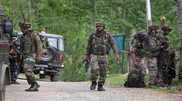 Two Terrorists Including LeT Top Commander Sajjad Killed - Sakshi