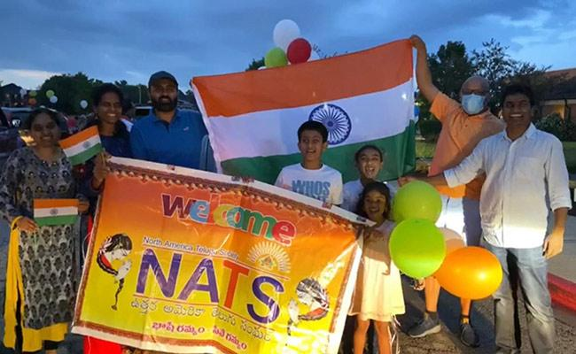 Independence Day Rally By NATS In Chicago - Sakshi
