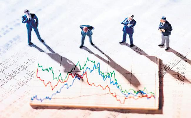 Sensex and Nifty log first gain in four sessions - Sakshi