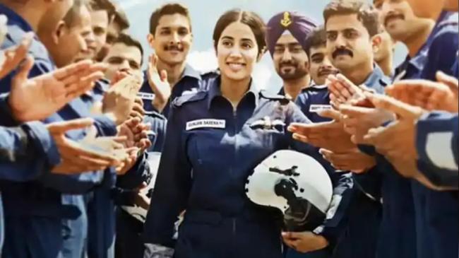 Gunjan Saxena Fellow Pilot Speaks Up - Sakshi
