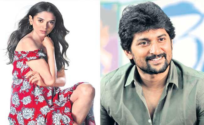 Nani And Aditi Rao Hydari May Work For The Second Time - Sakshi