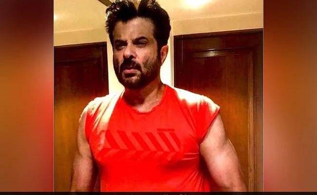 Anil Kapoor Is Trending Because Of His Muscles - Sakshi