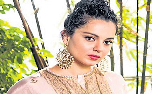 Gunshots heard near Kangana Ranaut is Manali residence - Sakshi