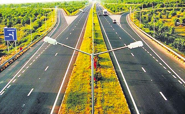 Anandapuram-Anakapalli highway completed by July - Sakshi