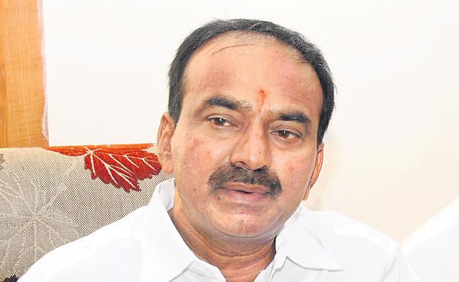 Minister Etela order for inquiry over high prices in hospitals - Sakshi