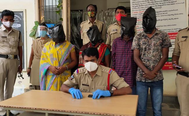 Police Arrested The Accused In Assassination Case - Sakshi