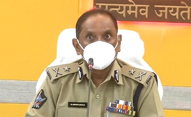 CP Srinivasulu Comments On Swarna Palace Fire Incident Vijayawada - Sakshi