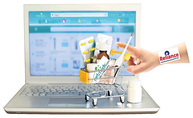 Reliance Buys Majority Stake In Online Pharmacy Netmeds - Sakshi
