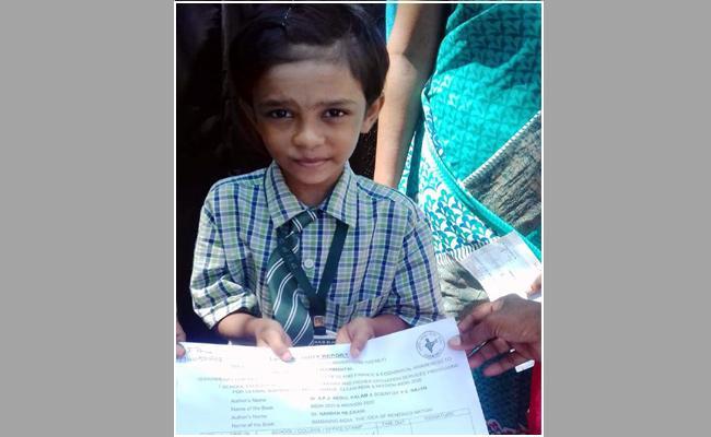 Seven Years Girl Got Summons From Court For School Development Work - Sakshi