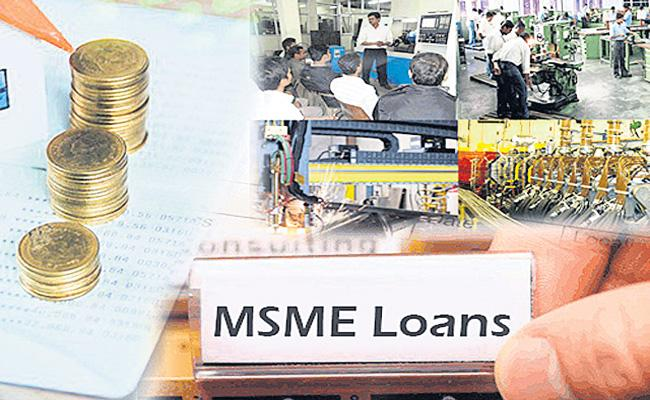 Loans worth Rs 1 lakh crore disbursed under ECLGS to offset - Sakshi