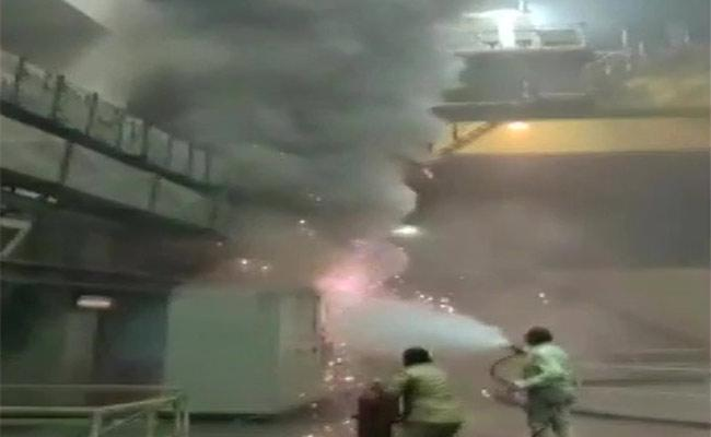 Fire breaks out in Srisailam power Project : Rescue operation underway - Sakshi