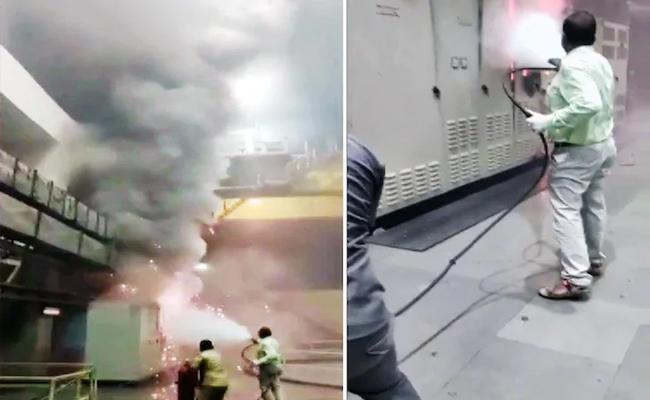 Srisailam Power Plant Fire Accident: Five Dead Bodies Found - Sakshi