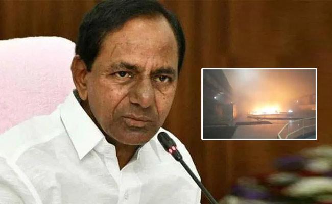 CM KCR Expresses Shock Over Srisailam Power Station Fire Mishap - Sakshi
