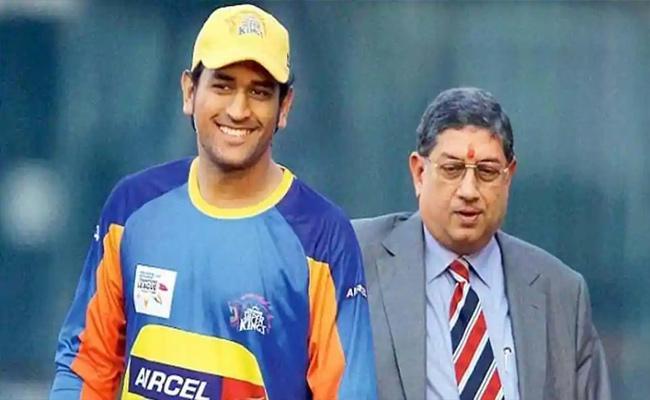 N Srinivasan Reveals How CSK Bagged Dhoni In IPL Auction - Sakshi