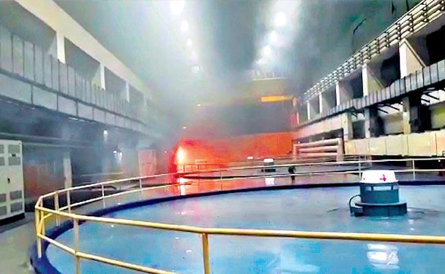 Telangana Srisailam Power Plant Fire: 9 Deceased - Sakshi