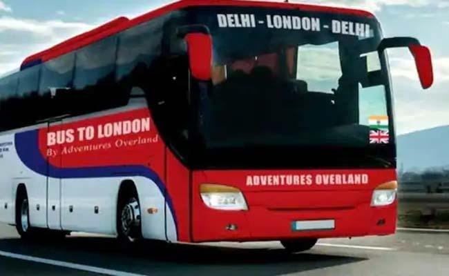Delhi To London Via Bus: Ticket Price Is Rs 15 Lakhs - Sakshi