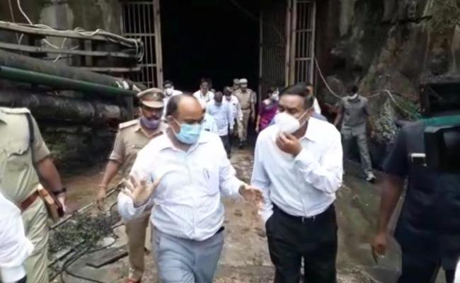 CID Investigation On Srisailam Power Plant Fire Accident - Sakshi