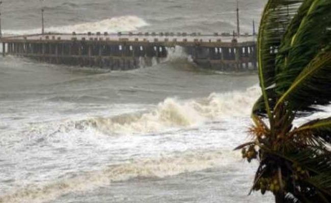 Low Pressure In The Bay Of Bengal Has Weakens - Sakshi