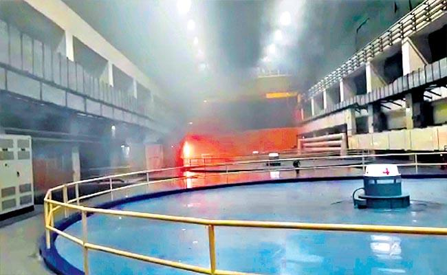 Srisailam Fire Accident: Preliminary Assessment Of Property Damage - Sakshi