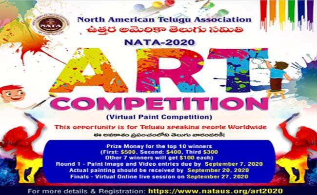 NATA ART Competition 2020 - Sakshi