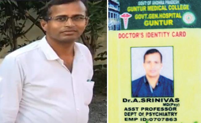 Government Doctor Self Elimination Drowning In Krishna River - Sakshi