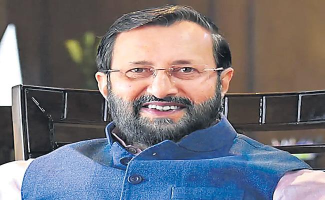 Prakash Javdekar announces SOPs for resumption of film and Tv shootings - Sakshi