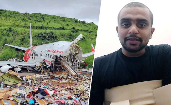 Thought I Had  Lost My Hands Says  Air India Plane Crash Survivor - Sakshi