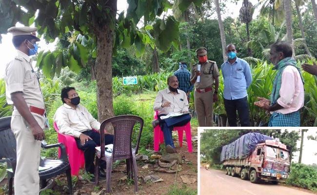 Forest Section Officer Suspension In West Godavari - Sakshi