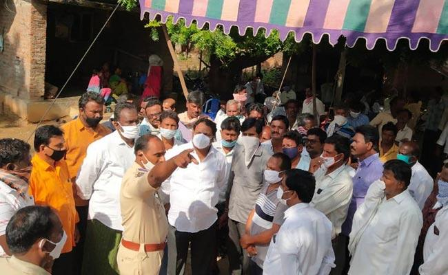 Police Rapidly Investigating The YSRCP Leader Subba Reddy Assassination Case - Sakshi