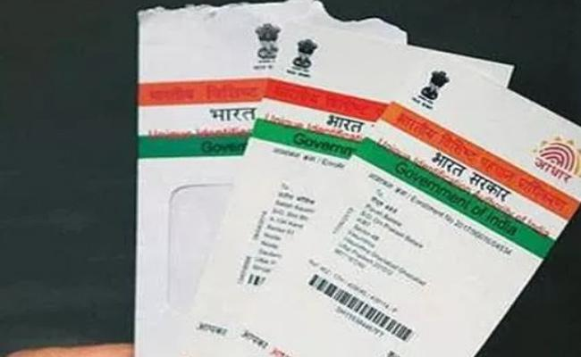 Police Arrested Aadhar Cards Fraudulents In Guntur - Sakshi