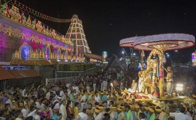 Tirumala Srivari Brahmotsavam September 19 To 27 - Sakshi
