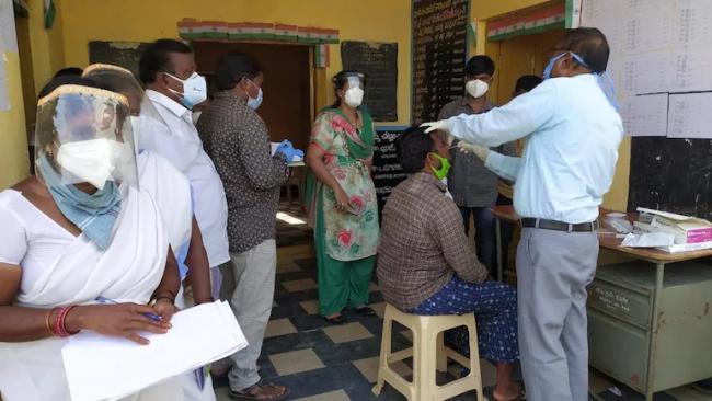 Pension Distributor Turns Coronavirus Super Spreader Wanaparthy - Sakshi