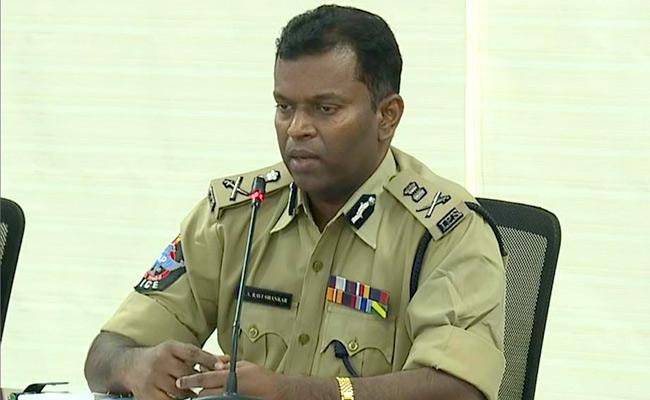 Dgp held video conference with Sugali preethi family - Sakshi