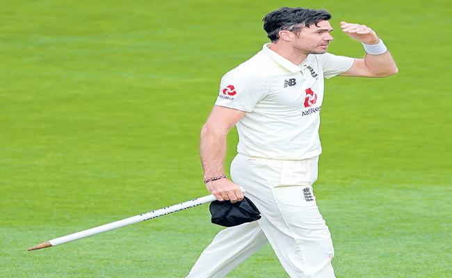 James Anderson is England journey to 600 Test wickets - Sakshi