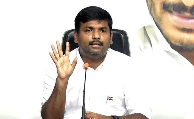 Yellow Media Distorting The Sc Judgment  Says MLA Amarnath  - Sakshi