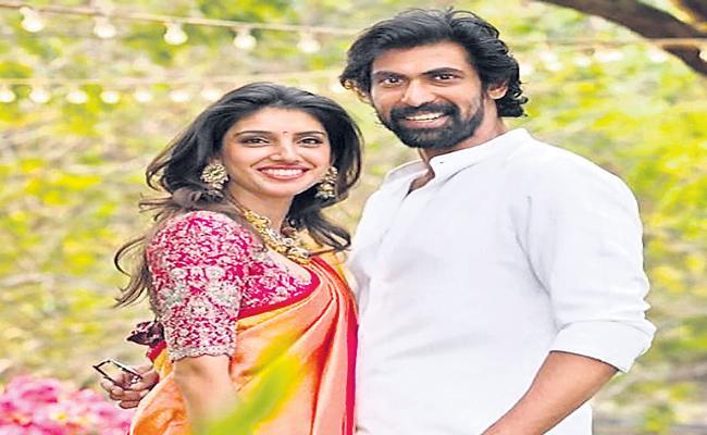 మిహికా బజాజ్, రానా దగ్గుబాటి - Sakshi